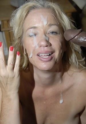 MILF Facial Porn Pictures