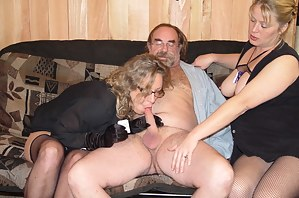 MILF Threesome Porn Pictures
